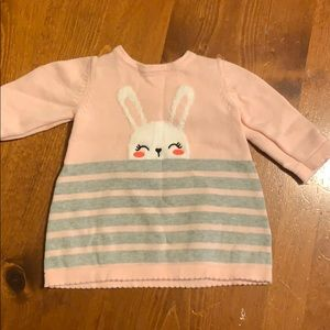 Sweater bunny dress